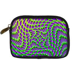 Illusion Delusion Digital Camera Leather Case