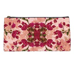 Retro Vintage Floral Motif Pencil Case