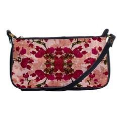 Retro Vintage Floral Motif Evening Bag