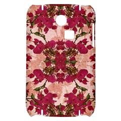 Retro Vintage Floral Motif Samsung S3350 Hardshell Case