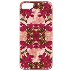 Retro Vintage Floral Motif Apple Iphone 5 Classic Hardshell Case