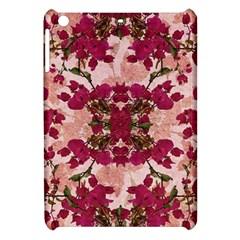 Retro Vintage Floral Motif Apple iPad Mini Hardshell Case