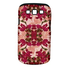Retro Vintage Floral Motif Samsung Galaxy S Iii Classic Hardshell Case (pc+silicone)