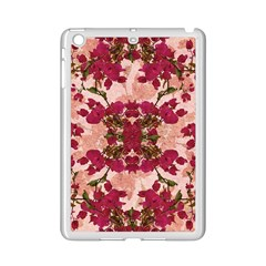 Retro Vintage Floral Motif Apple Ipad Mini 2 Case (white)