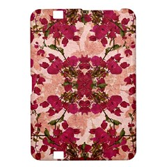 Retro Vintage Floral Motif Kindle Fire Hd 8 9  Hardshell Case