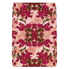 Retro Vintage Floral Motif Removable Flap Cover (large)