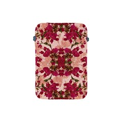 Retro Vintage Floral Motif Apple iPad Mini Protective Sleeve