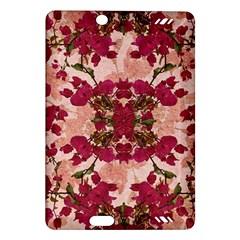 Retro Vintage Floral Motif Kindle Fire HD 7  (2nd Gen) Hardshell Case