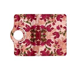 Retro Vintage Floral Motif Kindle Fire Hd 7  (2nd Gen) Flip 360 Case