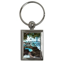 Psychic Medium Claudia Key Chain (Rectangle)