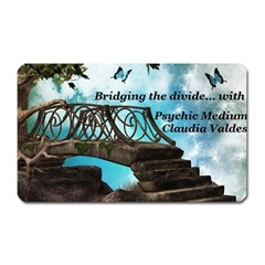 Psychic Medium Claudia Magnet (rectangular)