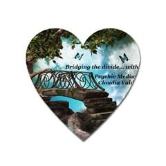Psychic Medium Claudia Magnet (Heart)