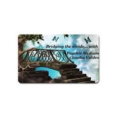Psychic Medium Claudia Magnet (Name Card)