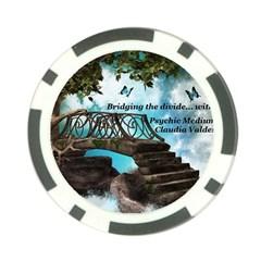 Psychic Medium Claudia Poker Chip