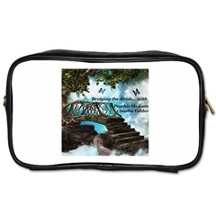Psychic Medium Claudia Travel Toiletry Bag (two Sides)
