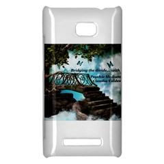 Psychic Medium Claudia HTC 8X Hardshell Case