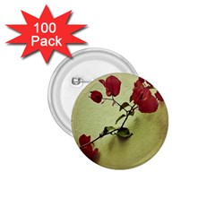 Santa Rita Flower in Warm Colors Wall Photo 1.75  Button (100 pack)