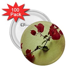 Santa Rita Flower in Warm Colors Wall Photo 2.25  Button (100 pack)