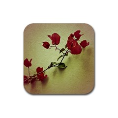 Santa Rita Flower In Warm Colors Wall Photo Rubber Coaster (square)