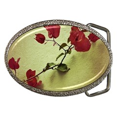 Santa Rita Flower in Warm Colors Wall Photo Belt Buckle
