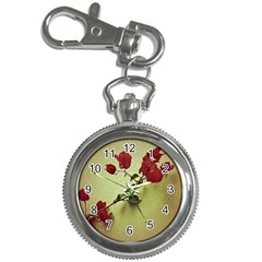 Santa Rita Flower In Warm Colors Wall Photo Key Chain Watch