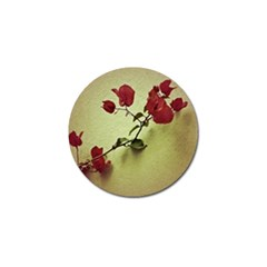Santa Rita Flower in Warm Colors Wall Photo Golf Ball Marker (4 pack)