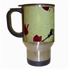 Santa Rita Flower Travel Mug (White)