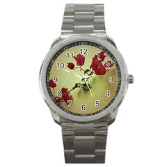 Santa Rita Flower Sport Metal Watch