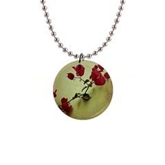 Santa Rita Flower Button Necklace