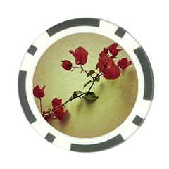 Santa Rita Flower Poker Chip (10 Pack)