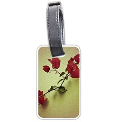 Santa Rita Flower Luggage Tag (one Side)