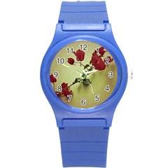 Santa Rita Flower Plastic Sport Watch (Small)