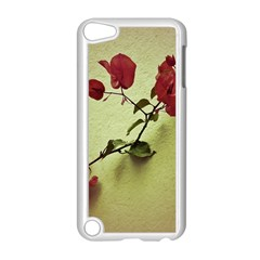 Santa Rita Flower Apple iPod Touch 5 Case (White)