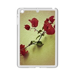 Santa Rita Flower Apple iPad Mini 2 Case (White)