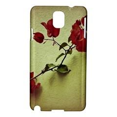 Santa Rita Flower Samsung Galaxy Note 3 N9005 Hardshell Case