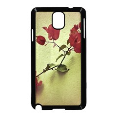 Santa Rita Flower Samsung Galaxy Note 3 Neo Hardshell Case (black)
