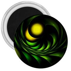 Artichoke 3  Button Magnet