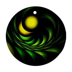 Artichoke Round Ornament