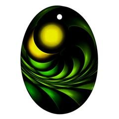 Artichoke Oval Ornament