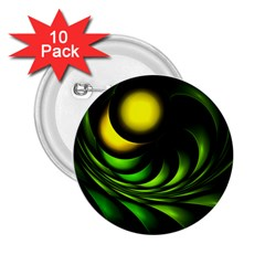 Artichoke 2.25  Button (10 pack)