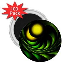 Artichoke 2.25  Button Magnet (100 pack)
