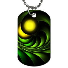 Artichoke Dog Tag (one Sided)