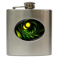 Artichoke Hip Flask