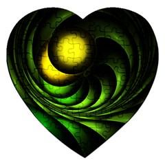 Artichoke Jigsaw Puzzle (heart)