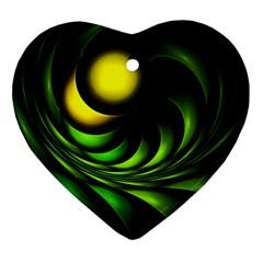 Artichoke Heart Ornament (Two Sides)