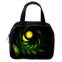 Artichoke Classic Handbag (one Side)