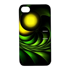 Artichoke Apple Iphone 4/4s Hardshell Case With Stand
