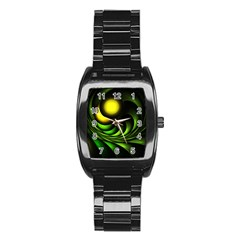 Artichoke Stainless Steel Barrel Watch