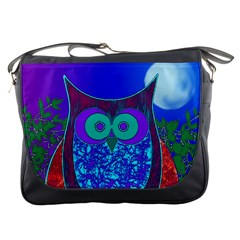 Moon Owl Messenger Bag