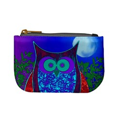 Moon Owl  Coin Change Purse